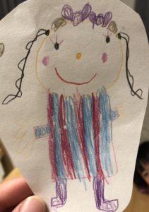 4歳の女の子が描いた絵をぬいぐるみに!