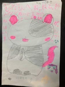 6歳の女の子が描いた絵をぬいぐるみに!