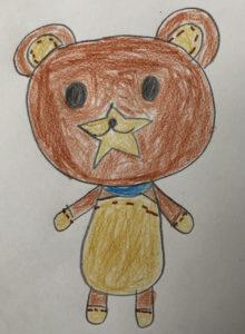 8歳の女の子が描いた絵をぬいぐるみに!